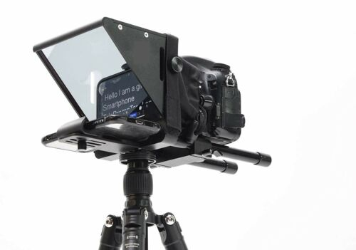 """7"""" Screen Teleprompter for iPhone/PC/Android Smartphone DSLR Video- High quality"""