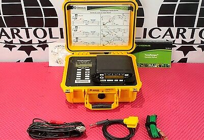 New Greenlee Toneranger Tf1 Cable Fault Locator W Ariel Buried Paired Id