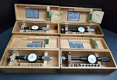 4x Standard Usa 0.0001 Dial Bore Gage Sets 1 To 6 No 2 3 4 5 Machinist Tool