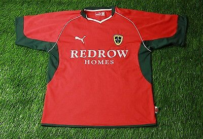 CARDIFF CITY WALES 2004/2005 FOOTBALL SHIRT JERSEY AWAY PUMA ORIGINAL SIZE M image
