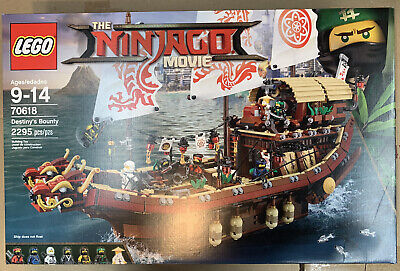 LEGO The Ninjago Movie Destiny's Bounty 70618 - BRAND NEW SEALED FREE SHIPPING