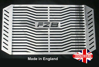 <em>YAMAHA</em> FZ8 SN 10 16 STAINLESS STEEL RADIATOR RAD COVER GRILL GUARD