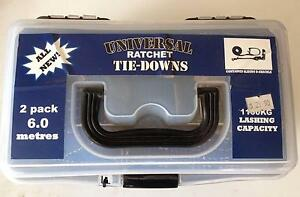 Universal Ratchet Tie-Downs 2-pack Midvale Mundaring Area Preview