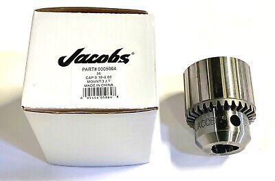 Jacobs Drill Chuck 36 3jt Taper Mount 0.18 - 0.90 5064