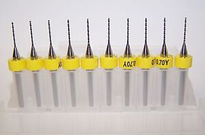 10-NEW-0-70mm-0276-Printed-Circuit-Board-Drills-PCB-Kyocera-Tycom