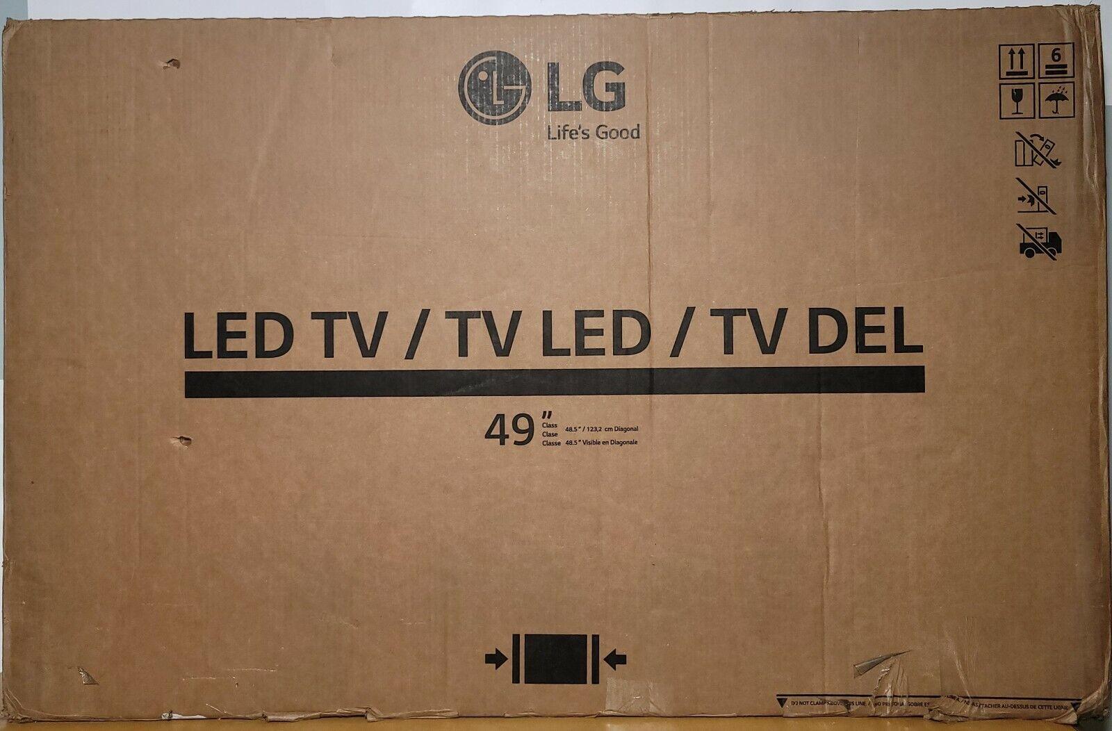 LG 49-inch Diagonal Class UT577H LED-backlit LCD Display - Factory Sealed