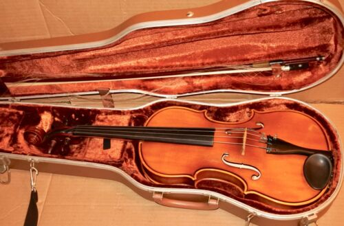 Vintage Stradivarius Scherl & Roth Shop Adjusted Viola Model 90/C 15 1/2 1975