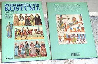 Racinet, Albert: Weltgeschichte der Kostüme. Klassische Werk des 19.Jahrhunderts