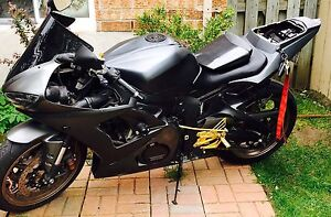 Yamaha r6 24,000km power commander 3