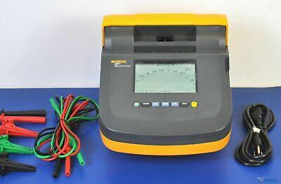 Fluke 1550c 5kv Insulation Tester Megohmmeter - Nist Calibrated Megger