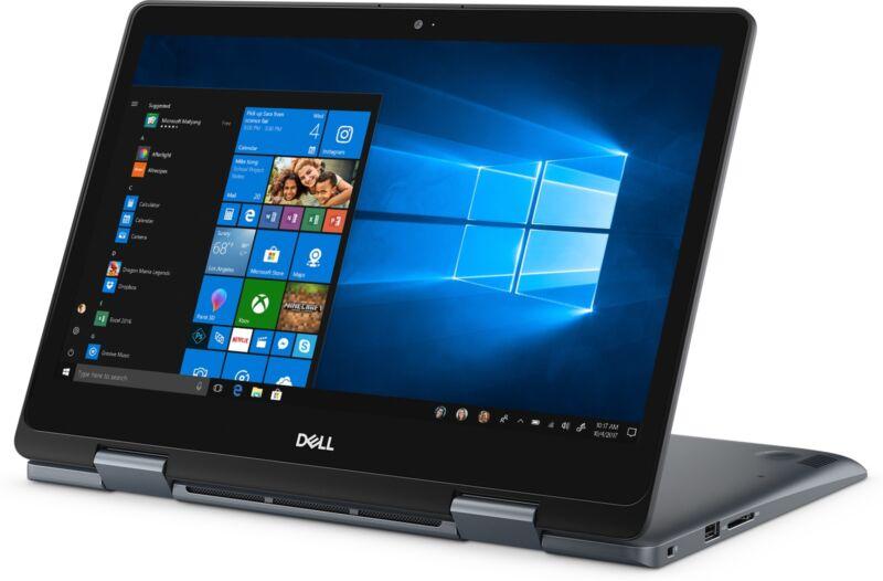 "Dell Inspiron 14"" HD Touchscreen  2-in-1 Intel Core i3 4GB RAM 128GB SSD"