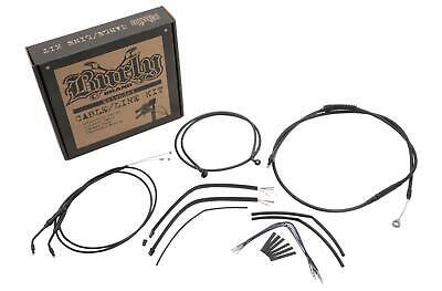 BURLY BRAND CABLE AND BRAKE LINE KITS, BLACK B30-1003
