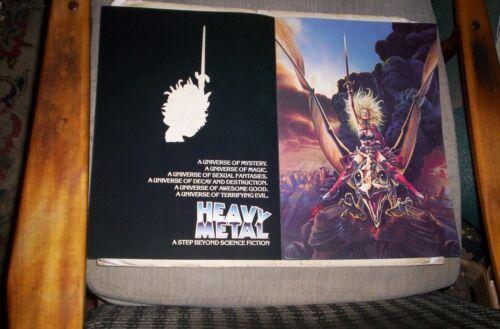 Heavy Metal Movie Variety Ad Supplement 1981