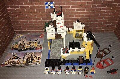 Lego 6276 Pirates Eldorado Fortress Set Manual Minifigures Vintage
