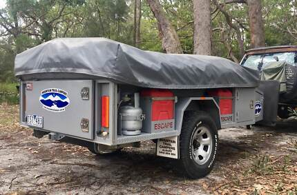 Mountain Trail Escape Extended 4WD Off Road Camper Trailer OFFERS Wodonga Wodonga Area Preview