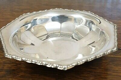 antique silver plate small BOWL