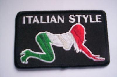 Aus den USA   Italian Style Babe ca 9 x5 cm