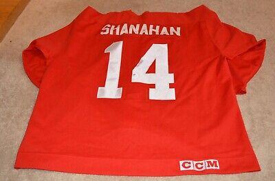 96bef85779b 1998 BRENDAN SHANAHAN GAME USED DETROIT RED WINGS JERSEY COA HOCKEYTOWN
