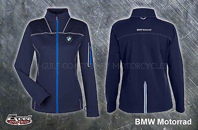 Excel BMW Motorrad Ladies Endeavor Performance Jacket Size Large Navy Blue