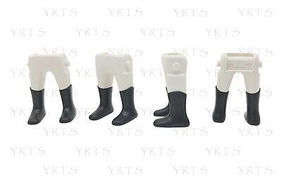 YRTS Playmobil 9886 Lote 4 Piernas con Botas Soldados Ingleses ¡New!