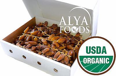 Fresh From Algeria Organic 11 LB Deglet Noor Dates on The Vine