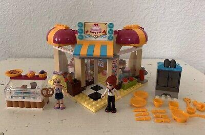 LEGO Friends 41006 Downtown Bakery 100% COMPLETE No Box 2013 Restaurant Shop