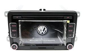 Volkswagen RCD510USB RCD510 Radio 6 Disc CD MP3 Player Golf Passat Tiguan Polo
