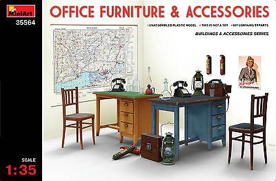 MINIART 35564 Office Furniture & Accessories in 1:35