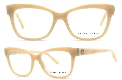 Ralph Lauren Damen Brillenfassung RA6164 5305 51mm beige cat eye Vollrand 86 18