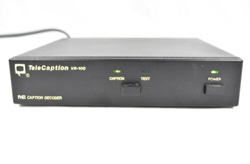 Telecaption VR-100 NCI Caption Decoder