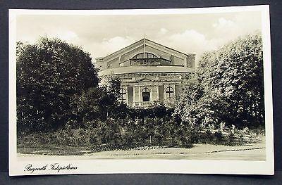 Bayreuth Festspielhaus - Theater Oper Bühne Foto Autogramm-AK (Y-1528