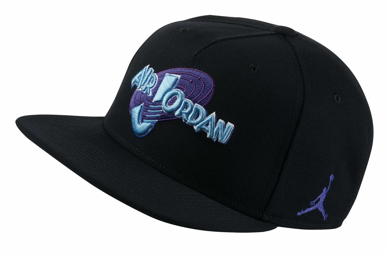 fa9fafea Nike Air Jordan Space Jam Snapback Hat - Black for sale online | eBay