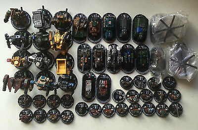 Wizkids MechWarrior Miniatures Large Army Bundle (52 Models) Lot #7 -- Fast Post