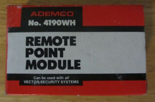 Ademco 4190WH Remote Point Module/2-Zone Expander, New in Box