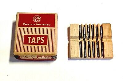 12-28 Hand Tap Bottoming Taps High Speed Steel 4 Flute USA Made 12 Pack