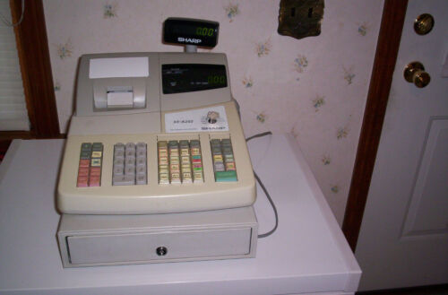 Sharp Electronic Cash Register Model XE-A202
