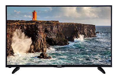 Telefunken XF50D101 LED Fernseher 50 Zoll 127 cm Full HD TV Triple Tuner schwarz