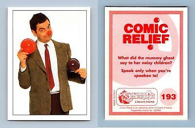 Comic Relief #193 Merlin 1995 Mr Bean Sticker