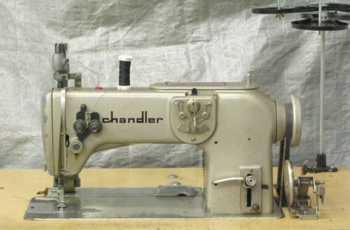 Bernina 217, 1-Needle, ZigZag, Industrial Sewing Machine, 110V, w/ cloth puller.