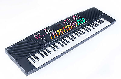 54 Key Keyboard Digital Electronic Electric Music Piano w Mic Record Playback on Rummage