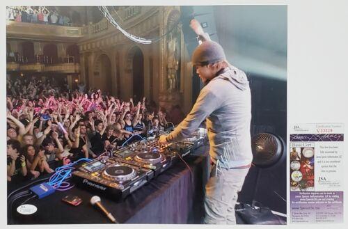 AVICII DJ SIGNED 11X14 PHOTOGRAPH W/ JSA CERT EDM LEVELS TIM BERGLING