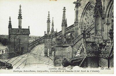 CPA - Carte postale -  FRANCE - LEPINE - Basilique Notre Dame (iv 297)