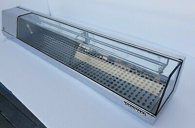 Used Yoshimasa Sushi Display Case Ymsc-6l 72 Ymsc Curved Glass Self-contained