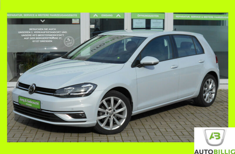 VW Golf VII Lim. BlueMotion ACC|LED|SHZG|5J.Gar.