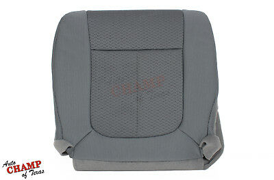 2012 2013 Ford F150 XLT STX XL -Driver Side Bottom Cloth Seat Cover Gray Ford F150 Seat