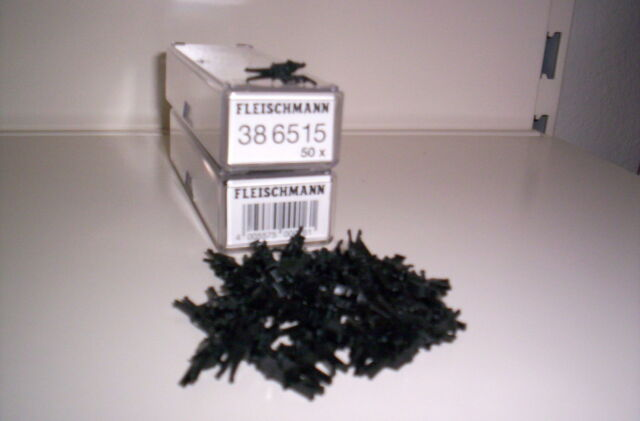 FLEISCHMANN 386515 GROSSPACKUNG PROFIKUPPLUNGEN 50 STÜCK 6515
