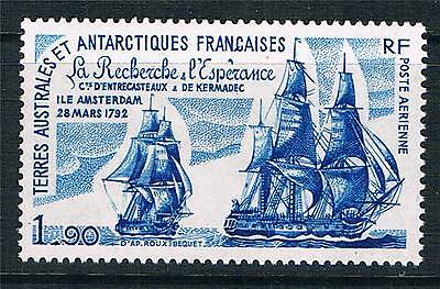 French Antarctic/TAAF 1979 1.90F Blue Airmail SG 145 MNH