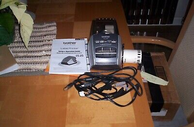 Brother Ql-570 Professional High Resolution Label Printer Barely Used Buy Now