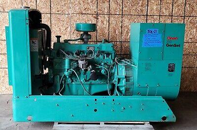 Onan 30kw 3 Phase 30kw Single Phase 480v277 208v 240 Natural Gas Generator