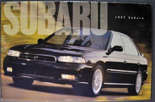 1997 Subaru Brochure Impreza SVX Legacy Outback Wagon Excellent Original 97